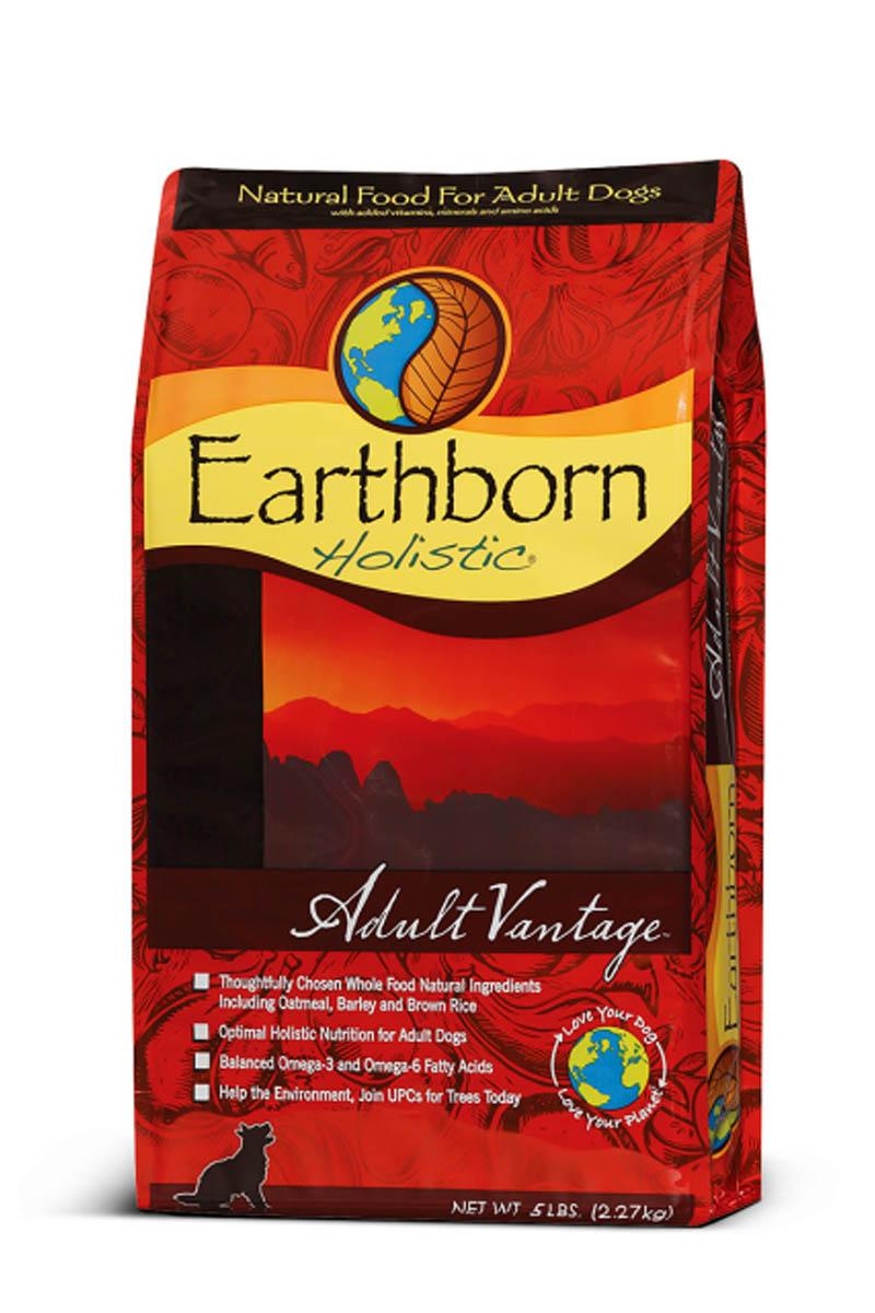 Earthborn Holistic Adult Vantage корм для взрослых собак всех пород курица и рыба.