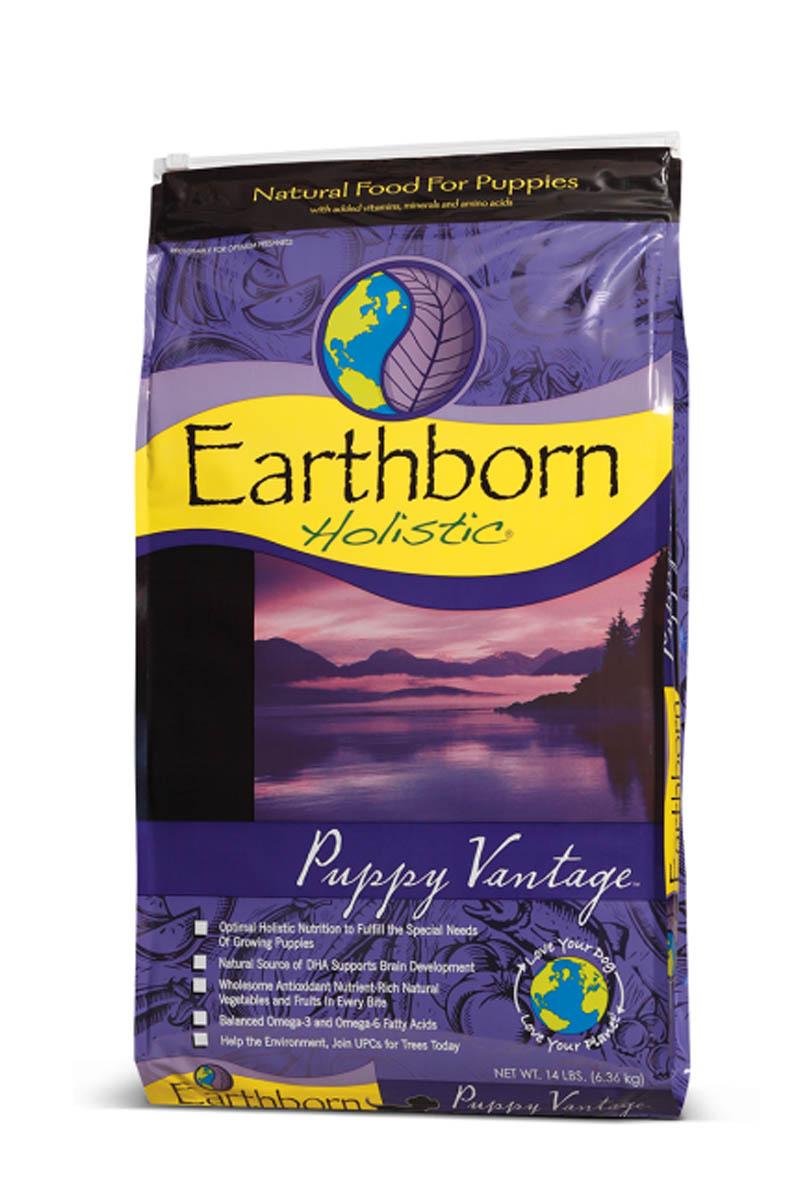 Earthborn Holistic Puppy Vantage сухой корм для щенков всех пород курица и рыба.