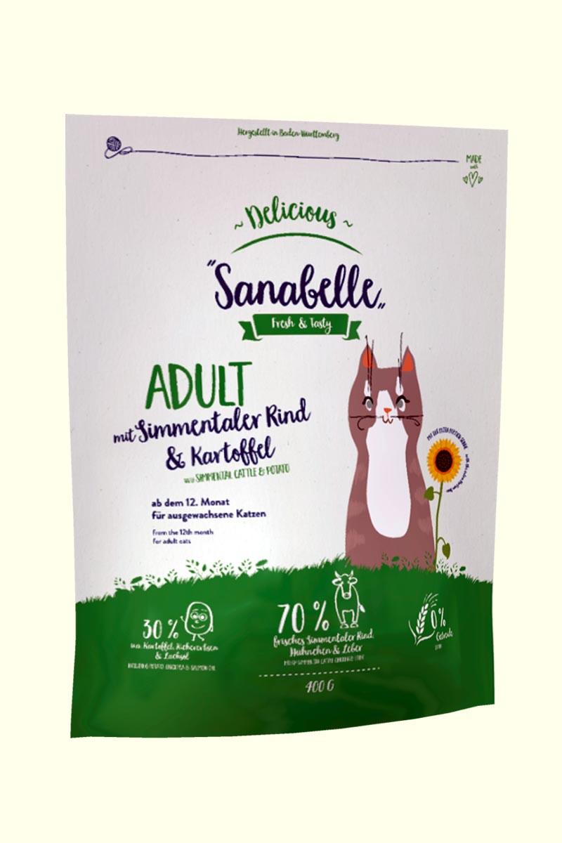 Bosch Sanabelle Adult (симментальская корова с картофелем)