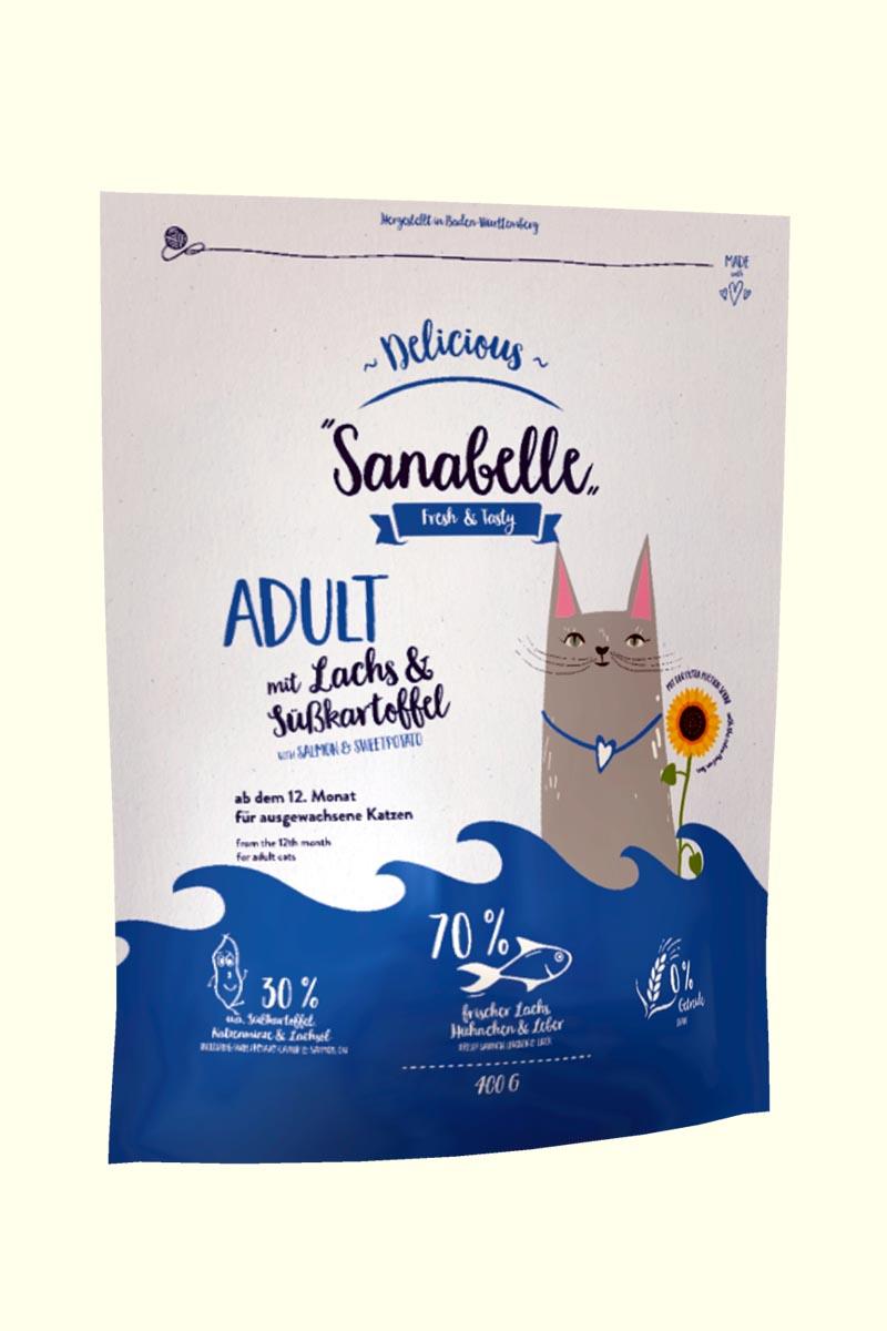 Bosch Sanabelle Adult (лосось с бататом)