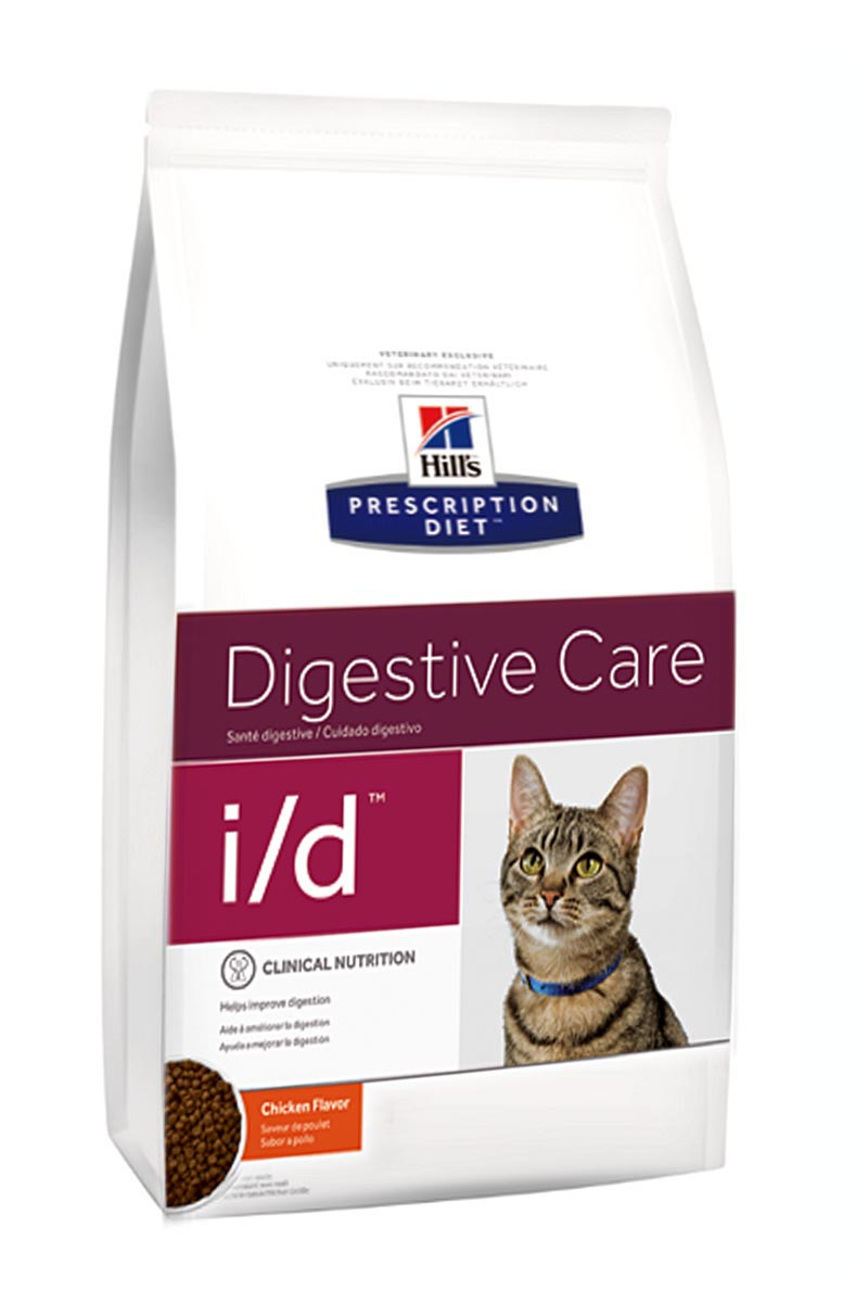 Hills Prescription Diet Feline i/d для лечения заболеваний ЖКТ, гастриты, энтериты, панкреатиты