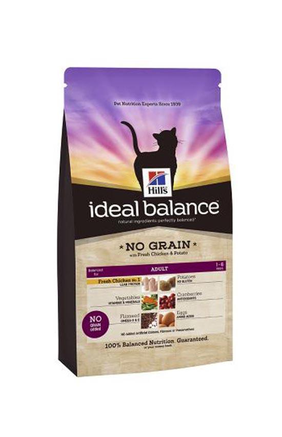 Hill's IB Feline Adult No Grain with Fresh Chicken and Potato