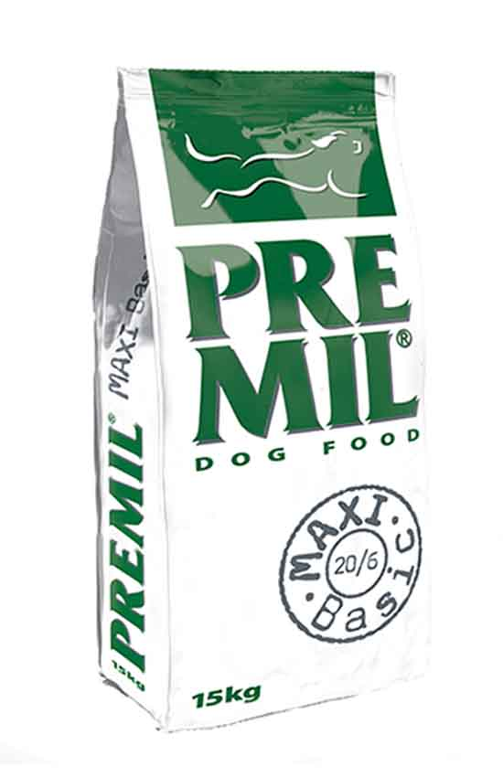 Корм Premil Maxi Basic премиум класс