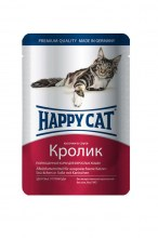 Консервы Happy Cat Adult (Кролик), 100 г.