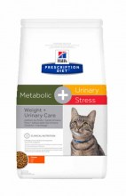 Hill's Prescription Diet Metabolic + Urinary Stress Feline с курицей
