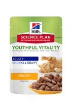 Hills Science Plan Feline Adult 7+ Youthful Vitality с курицей