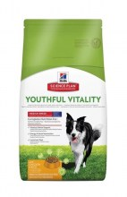Hill's Science Plan Canine Adult 7+ Youthful Vitality Medium Breed с курицей и рисом