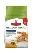 Hill's Science Plan Feline Nature Adult 7+ Youthful Vitality с курицей и рисом