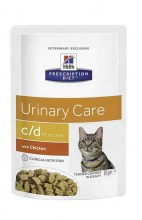 Hills c/d Multicare Urinary Care с курицей, 85 г.