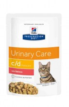 Hills c/d Multicare Urinary Care с лососем, 85 г.
