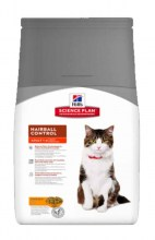 Hill's Science Plan Feline Adult Hairball Control с курицей