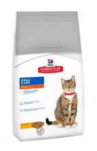 Hill's Science Plan Feline Adult Optimal Care Oral Care с курицей