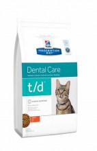 Hills Prescription Diet t/d Dental Care с курицей
