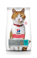 Hill's Science Plan Adult Young Sterilised Cat с тунцом