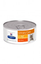 Hills c/d Multicare Urinary Care с курицей, 156 г.