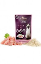 NUEVO Kitten Poultry with Rice, 85 г.