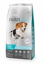 Nutrilove Dry FM Dog Junior puppy S/M breed  с курицей