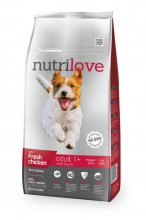 Nutrilove Dry FM Dog Adult small breed  с курицей