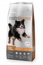 Nutrilove Dry FM Dog Adult large breed с курицей