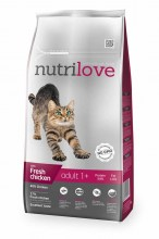 Nutrilove Dry FM Cat Adult chicken с курицей
