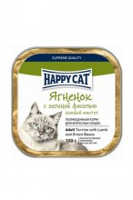 Паштет Happy Cat Adult (Ягненок, фасоль)