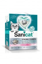 Наполнитель SANICAT Strong Clumps (Baby Powder)