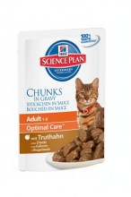 Hills Science Plan Feline Adult Turkey с индейкой, 85 г.